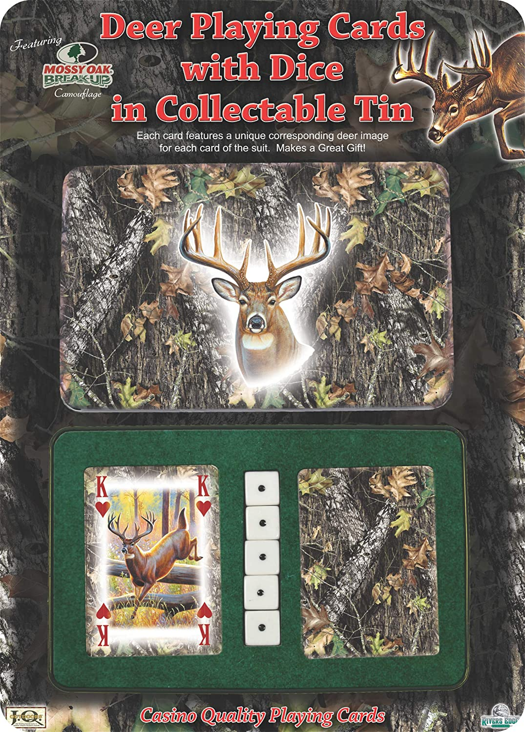 Lot 2 Realtree AP and APG Camouflage Bicycle Playing Cards Outdoor Hunting Deer