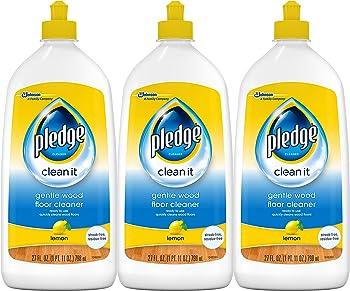 3-Pack Lemon Pledge Gentle Wood Floor Cleaner 27 fl oz