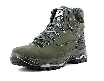 Grisport Unisex Schuhe Herren und Damen Trekking Mid Trekking- und Wanderstiefel, Atmungsaktive Gritex-Membran-Konstruktion Grau (V1), EU 45