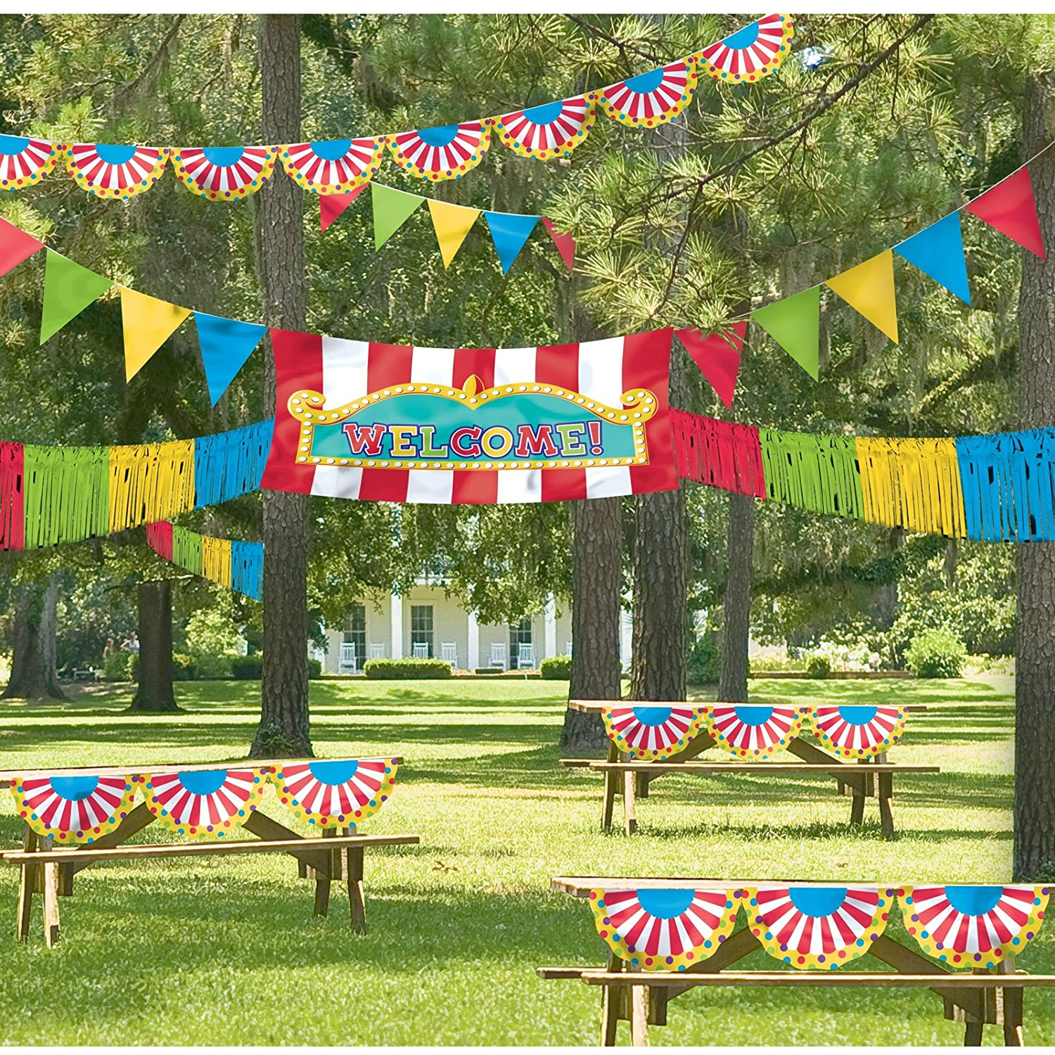 Amazoncom Super Fun Outdoor Carnival Giant Decorating Kit