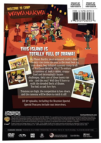 Amazon Com Total Drama Island The Complete Season 1 Emilie Barlow