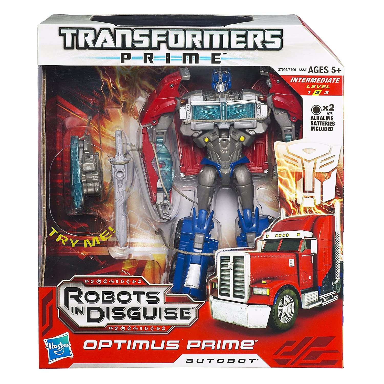 Autobot Optimus Prime Figure 37992 Transformers Prime Robots In Disguise