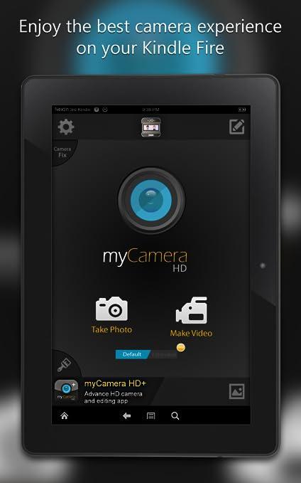 Amazon com: myCamera HD : Kindle Fire Camera: Appstore for
