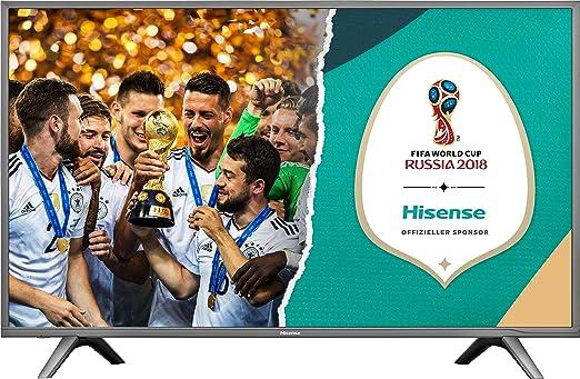 "Hisense H60NEC5605 TV LED Ultra HD 60"", Piattaforma SMART VIDAA U, HDR, Sistema Audio dbx-tv®, DVB-T2/S2 (HEVC)"