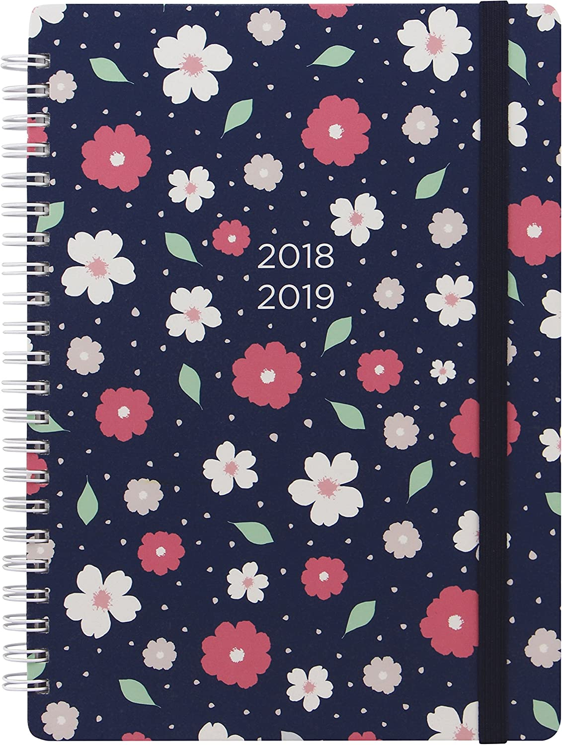 Letts Floral A6 Academic Diary 2020-2021 Week to View Wiro Bound 3 Designs