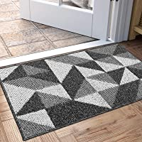 "Indoor Doormat, Non Slip Absorbent Resist Dirt Entrance Rug, 20""x32"" Machine Washable Low-Profile Inside Floor Door Mat…"
