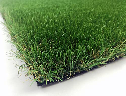 AllGreen Chenille Deluxe Multi Purpose Artificial Grass Synthetic Turf Indoor Outdoor Doormat Area Rug Carpet 6 x 9
