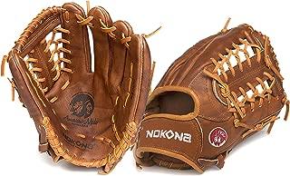 "product image for Nokona Walnut Series 11.5"" Baseball Glove - Left Hand Throw"