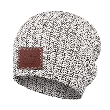 93a7a0740f5 Love Your Melon Black Speckled Beanie at Amazon Men s Clothing store