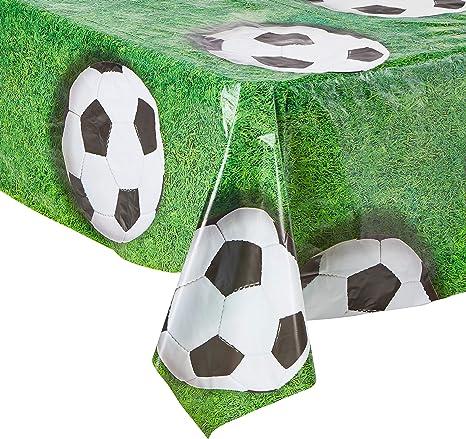 Amazon.com: Balón de fútbol Mantel, Verde/Blanco/Negro ...