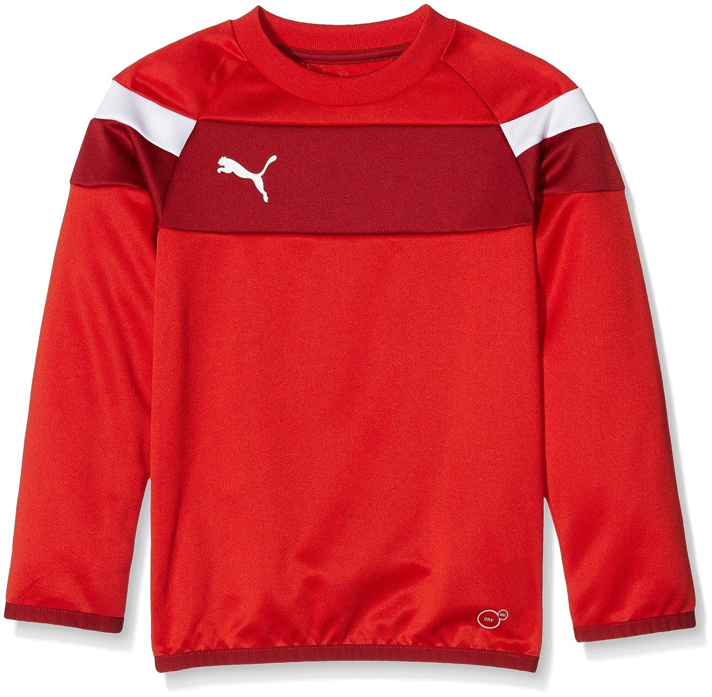 Puma Kinder Sweatshirt Spirit Ii Training Sweat Mantel PUMAE|#PUMA