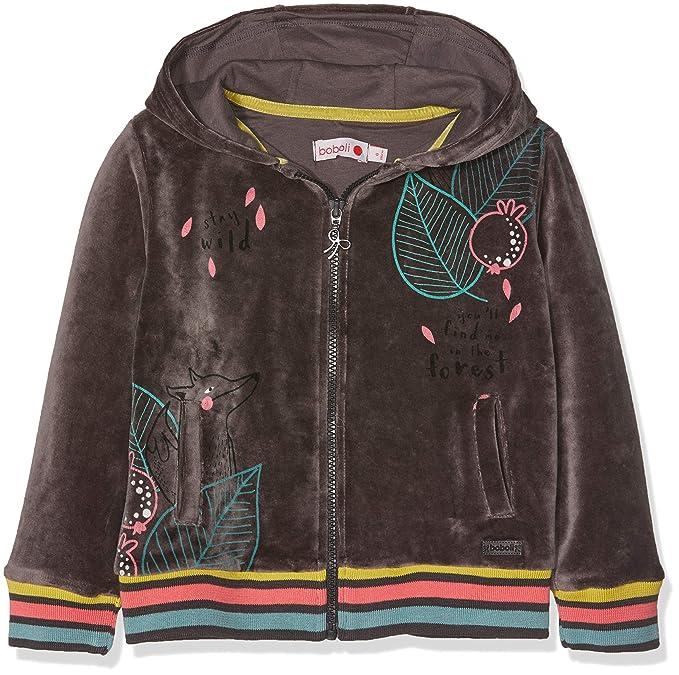 boboli Jacket For Girl, Sudadera para Niñas: Amazon.es: Ropa y accesorios