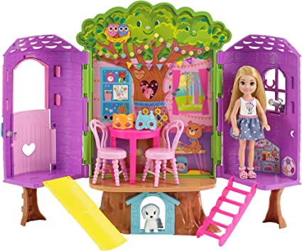 Barbie Club Chelsea Treehouse House Playset