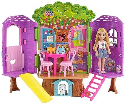 Barbie Muneca Chelsea Casa Del Arbol Amazon Com Mx Juegos Y Juguetes