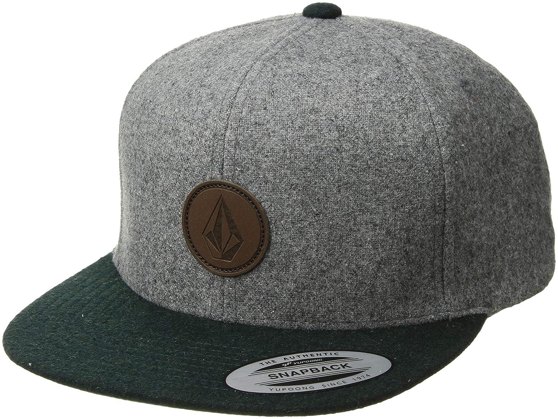 5dadaa71ccf Amazon.com  Volcom Men s Quarter Fabric Hat  Clothing