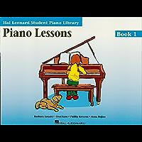 Piano Lessons - Book 1: Hal Leonard Student Piano Library (English Edition)