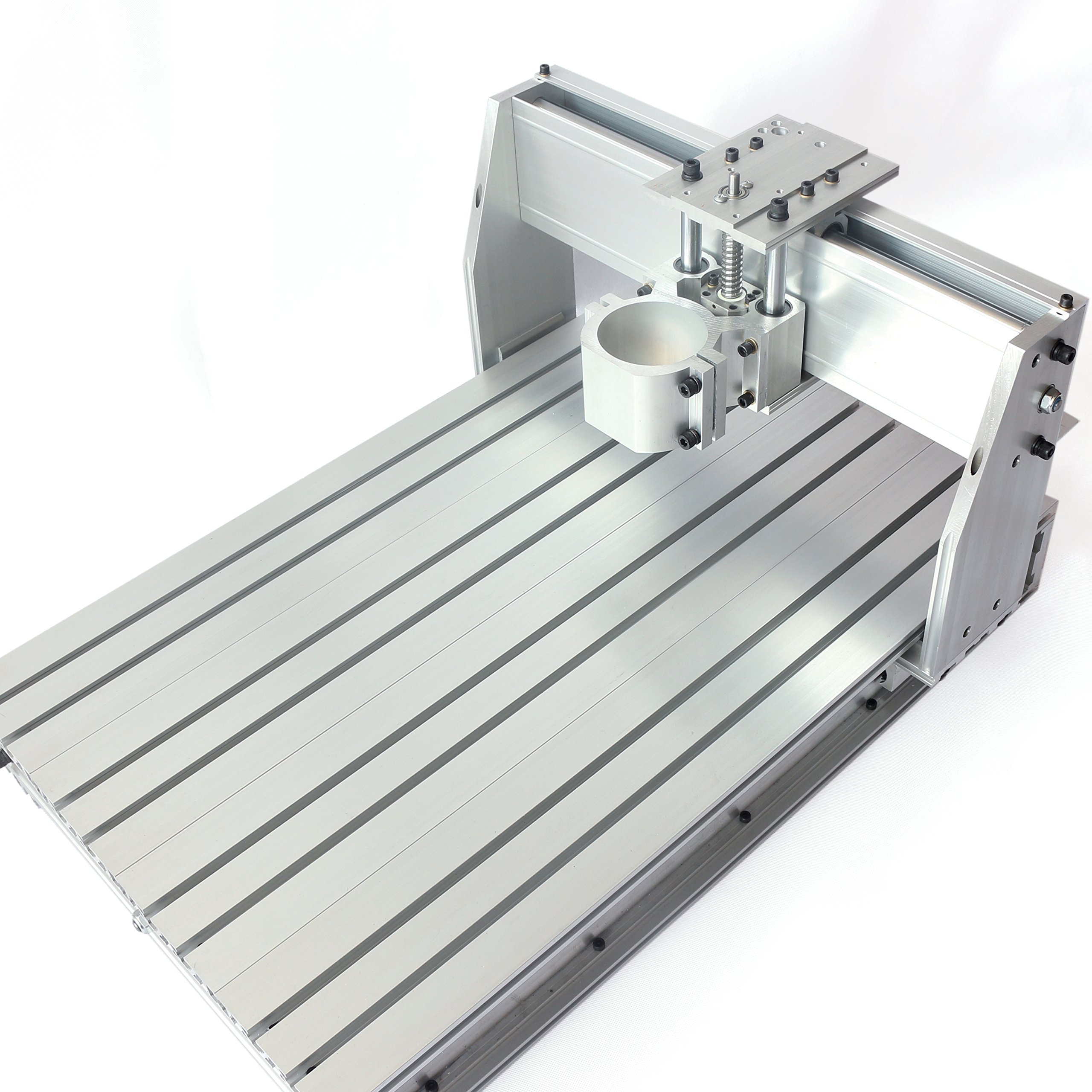6040 CNC Router Frame Milling Machine Mechanical Kit Ball Screw Aluminum Clamp Can Interchangeable 80mm【 For small and medium-sized processing 】