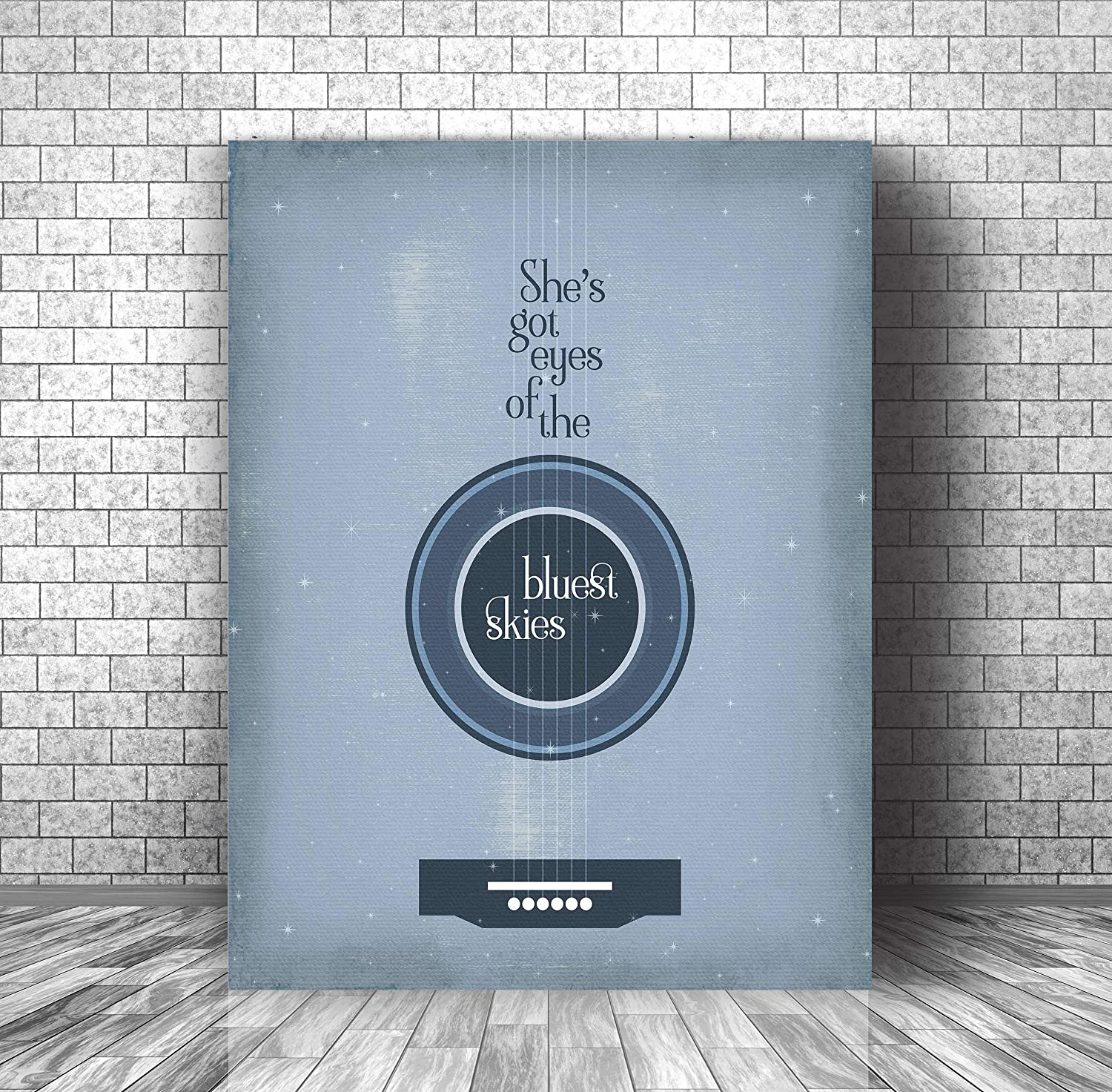 Amazon Com Sweet Child O Mine By Guns N Roses Inspired Song Lyrics Print Wall Art Canvas Or Plaque Decor Handmade