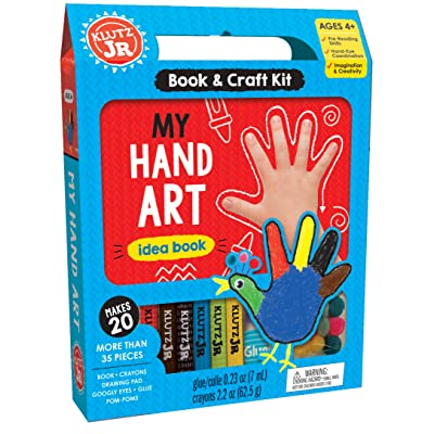 Klutz My Hand Art Craft Kit for Ages 4 Jr: Editors of Klutz: Toys & Games