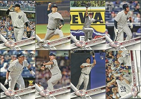 new styles a1ab1 1d47a 2017 Topps Series 1 & 2 Yankees Team Set 25 Cards Aaron Judge Rookie Card  Aaron Hicks Gary Sanchez Masahiro Tanaka Jacoby Ellsbury Greg Bird
