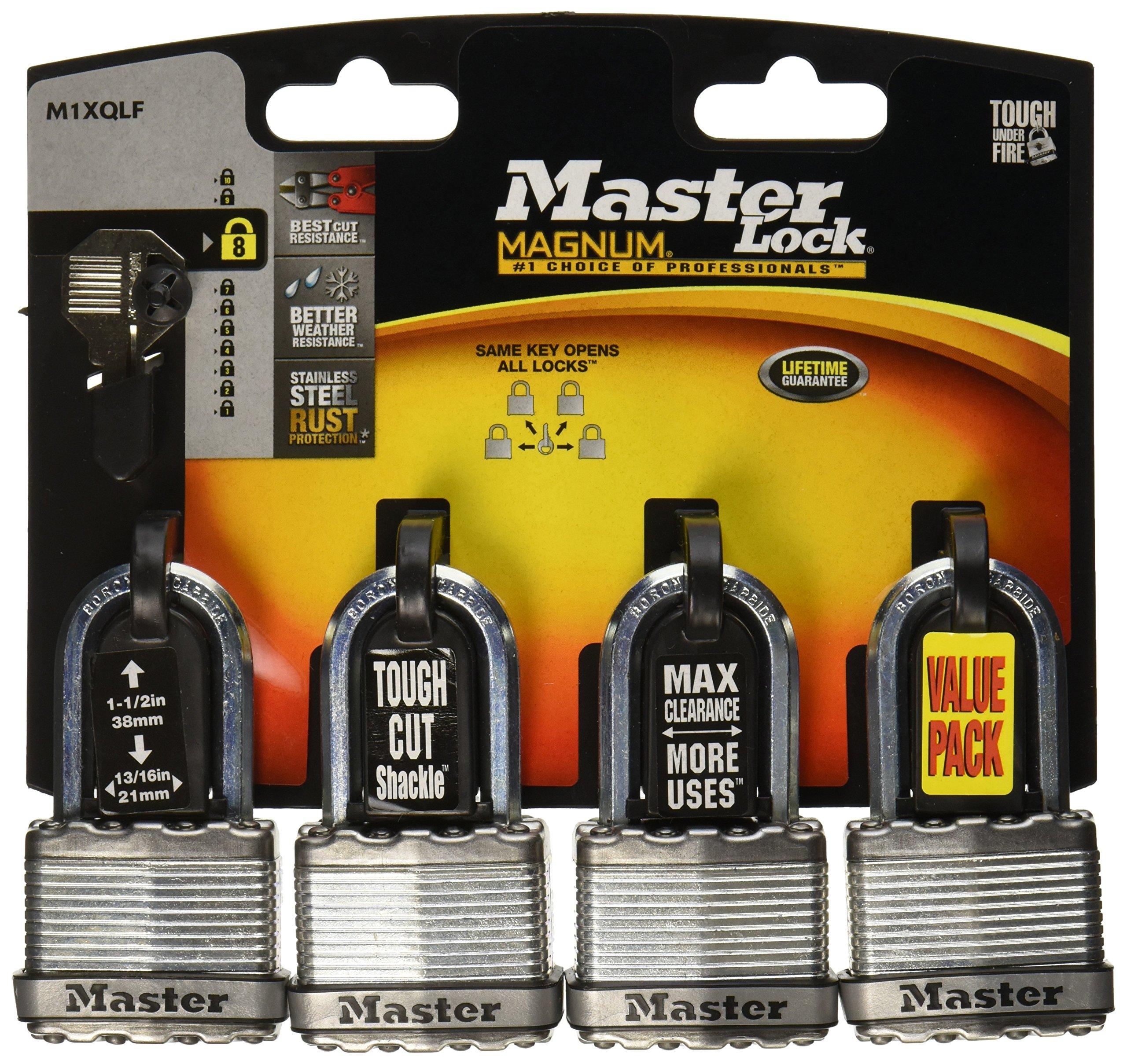 Master Lock M1XQLF Magnum Keyed Padlock