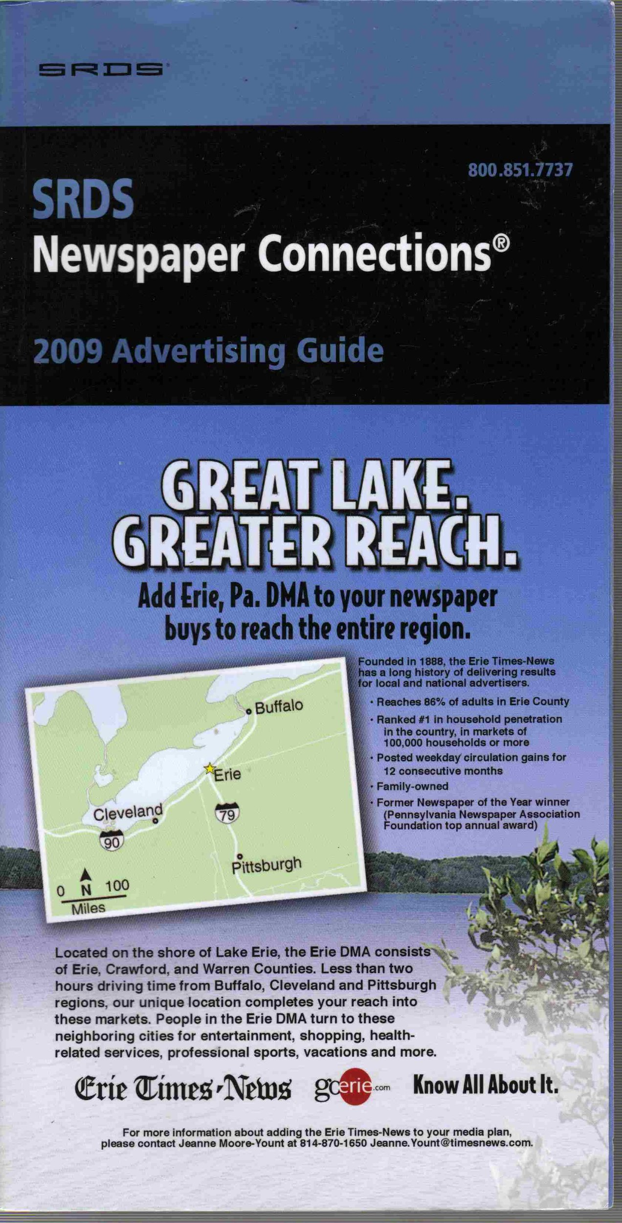 Read Online SRDS Newspaper Connections 2009 Advertising Guide ebook
