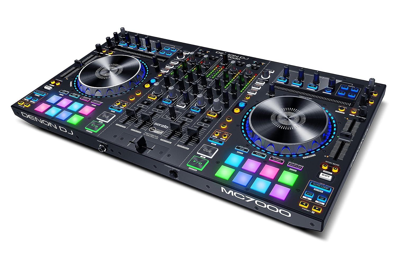 有名なブランド Denon MC7000 DJ 4デッキ DJ付 DJコントローラー Denon 2基USBオーディオインターフェイス内蔵 Serato DJ付 MC7000 B01KH3FAZY, ハウスウエアネットショップ:50792dda --- womaniyya.com