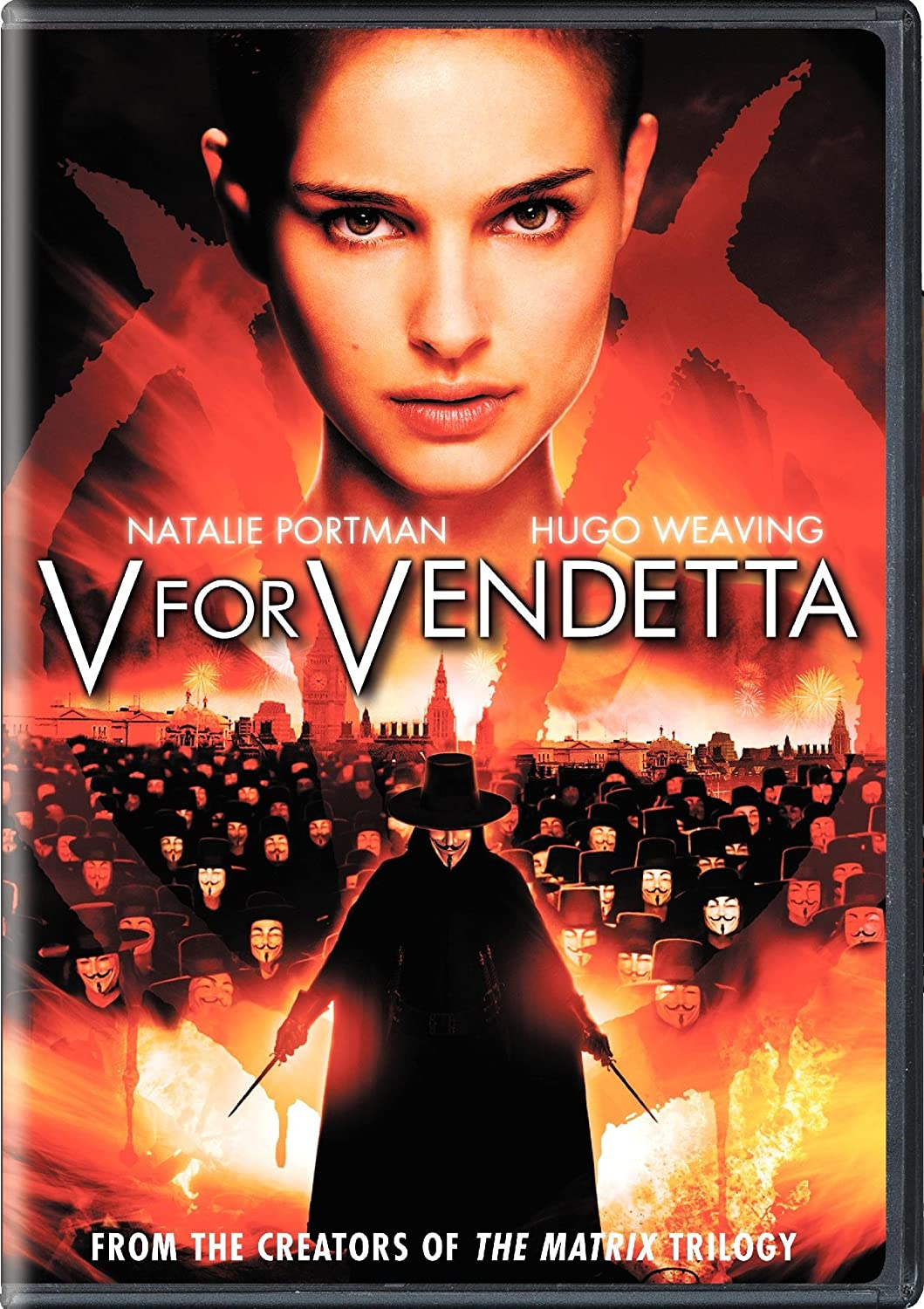 V For Vendetta Widescreen Edition James Mcteigue Alan Moore David Lloyd Natalie Portman Hugo Weaving Stephen Rea John Hurt Stephen Fry Tim Pigott Smith Rupert Graves Roger Allam Ben Miles Sinéad Cusack