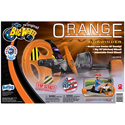 Big Wheel Peeler Ride On, Orange: Toys & Games