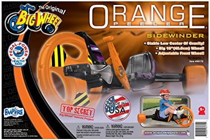 Amazon.com: Big Wheel pelador Ride On, color naranja: Toys ...