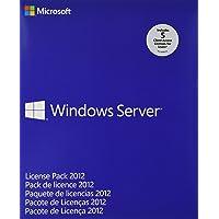 Microsoft Windows Server 2012, MLP, 5U CAL, ENG - Sistemas operativos (Licencia de acceso de cliente)