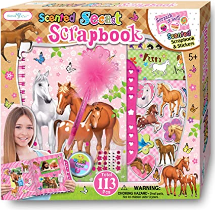 HORSE RUNNING # 2 die cuts scrapbook cards