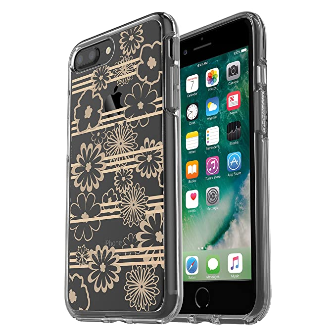 new concept 7b705 1bbab OtterBox SYMMETRY CLEAR SERIES Case for iPhone 8 Plus & iPhone 7 Plus  (ONLY) - Retail Packaging - Drive Me Daisy