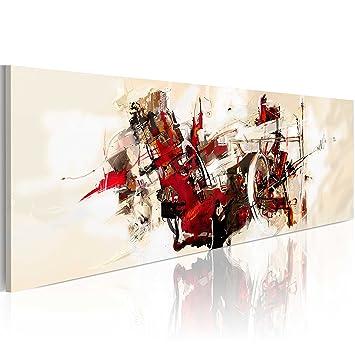murando - 100% handgemalte Bilder auf Leinwand 140x50 cm - abstrakt ...