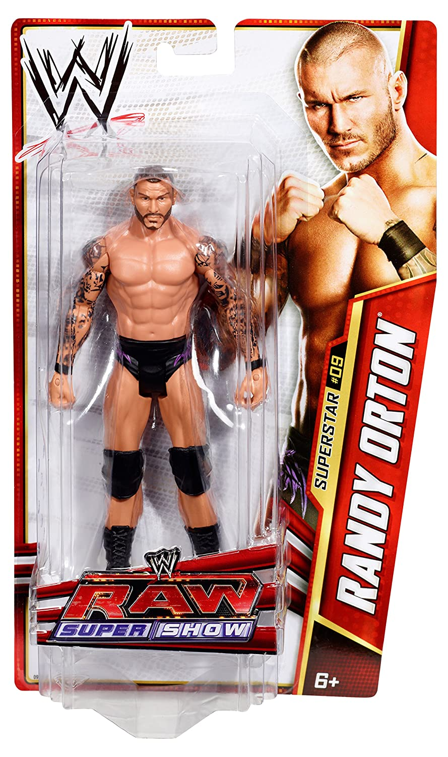 amazon com wwe randy orton raw supershow figure series 25