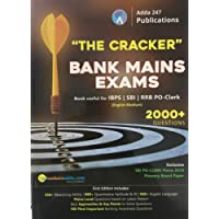 The Cracker Bank Mains Exams Book useful for IBPS SBI RRB PO-Clerk 2000+ Questions by Adda247