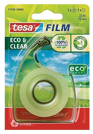 tesa 57968-00000-00 Eco and Clear tesafilm 33 m x 19 mm and tesa