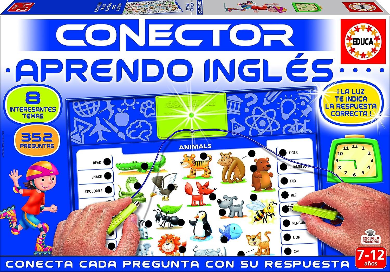 Educa Borrás Conector aprendo inglés