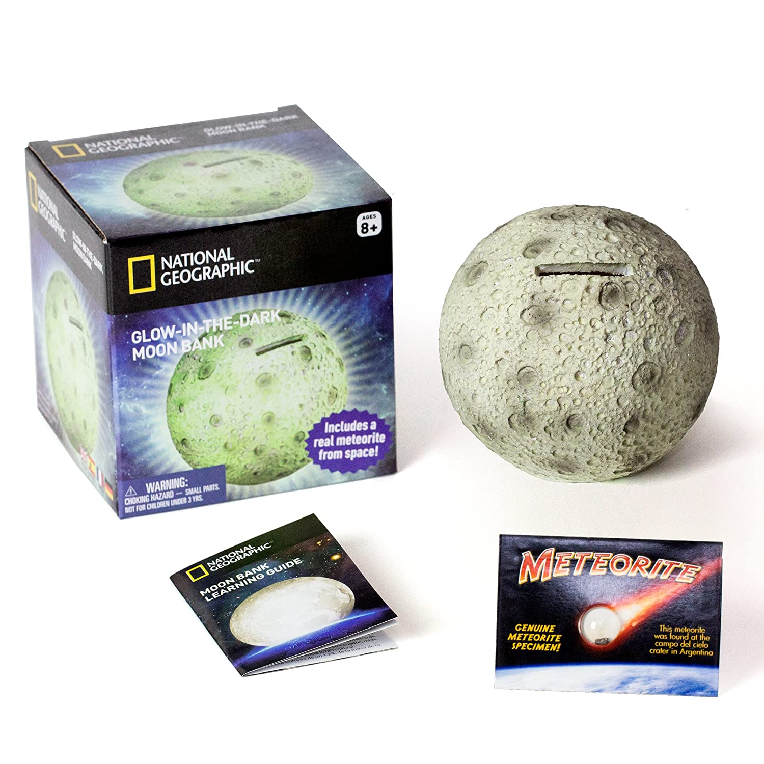 Glowing Moon Money Bank by National Geographic   B01J3AK1YC