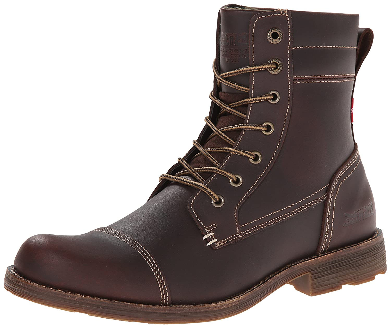 Levis Men's Lex Ii Chukka Boot, Dark Brown, 9 M Us by Levi27s