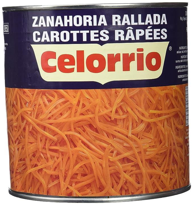 Celorrio - Zanahoria rallada - 1.4 kg: Amazon.es: Alimentación y ...