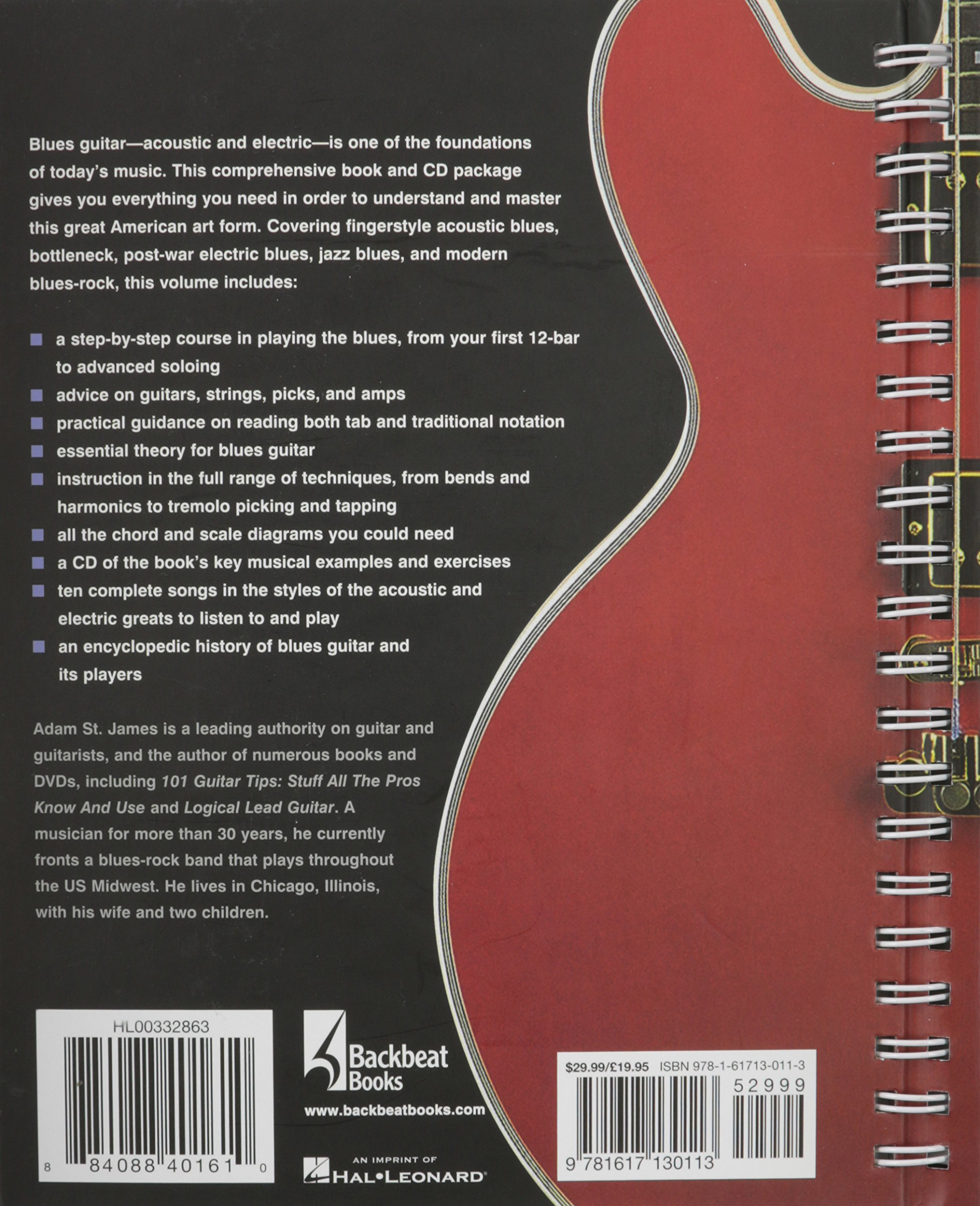 The Blues Guitar Handbook: A Complete Course in Techniques and Styles: Adam  St. James: 0884088401610: Amazon.com: Books
