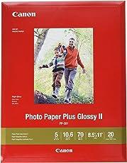 Canon PP-301 Brillo - Papel fotográfico (Brillo, 20 hojas)