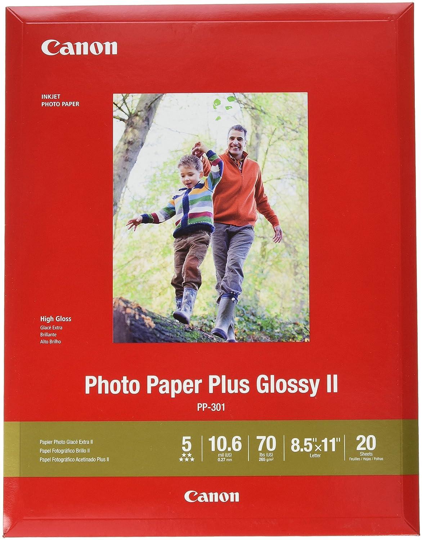 Papel Fotografico Canon Brillante Carta 20 hojas 265gsm