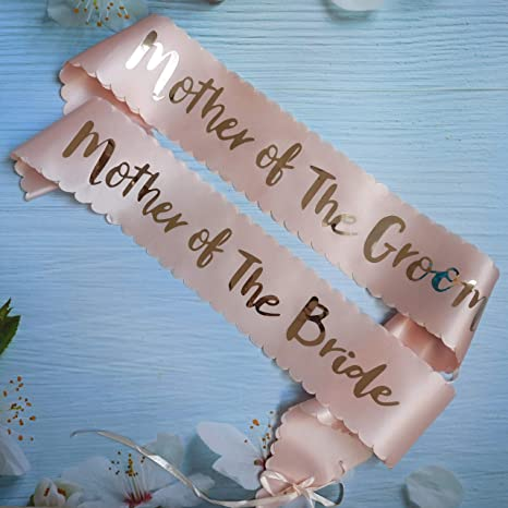 Mother of the Bride Sash Bridal Party Wedding Shower Bride to Be Bachelorette