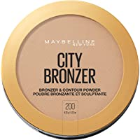 Maybelline New York City Bronzer Powder Makeup, Bronzer and Contour Powder, 200, 0.32 Ounce