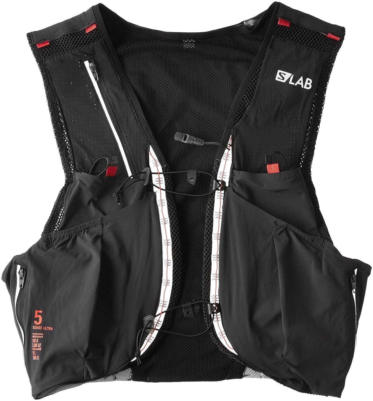 [サロモン] リュックサック S/LAB SENSE ULTRA 5 SET Sサイズ L39381500-Sサイズ  Black/Racing Red B01HNU5OR8