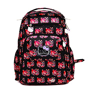 03d1831882 Amazon.com   Ju-Ju-Be Hello Kitty Collection Be Right Back Backpack Diaper  Bag