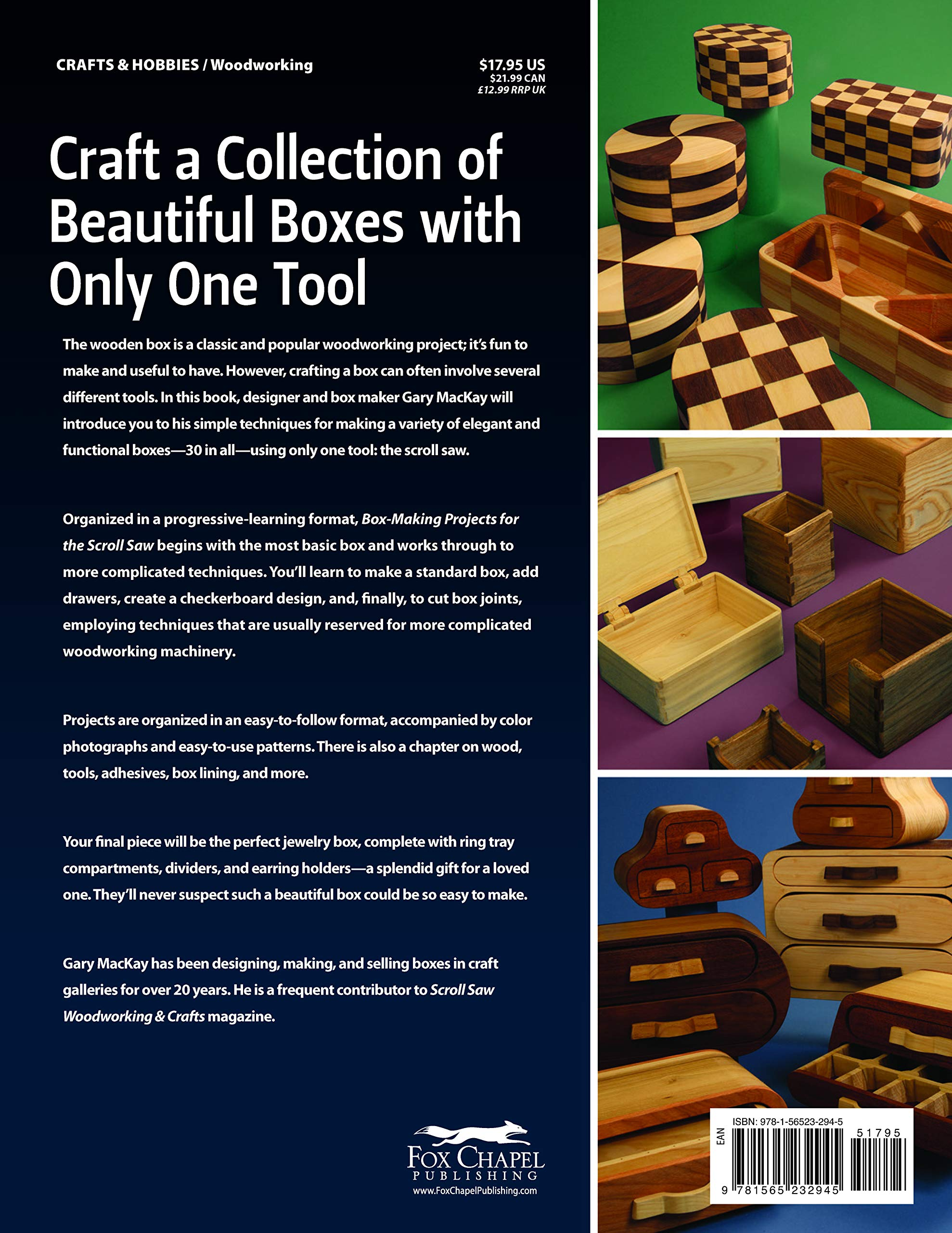 Jual Box Making Projects For The Scroll Saw 30 Woodworking Projects