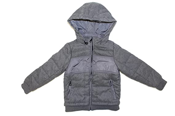 f006bf80c1bf Amazon.com  Urban Republic Boy s Quilted Heavy Weight Hooded Jacket ...
